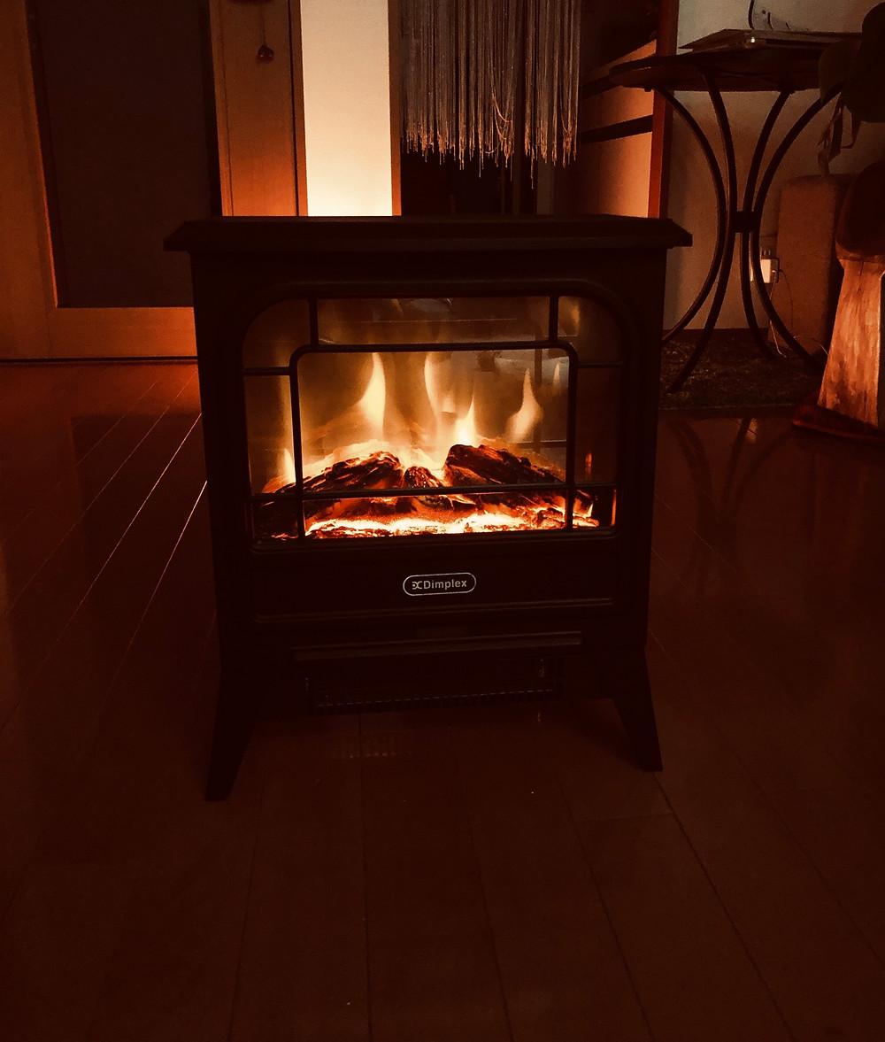 LED暖炉 風水パワーツール コンテンポラリー風水フジワラユカ