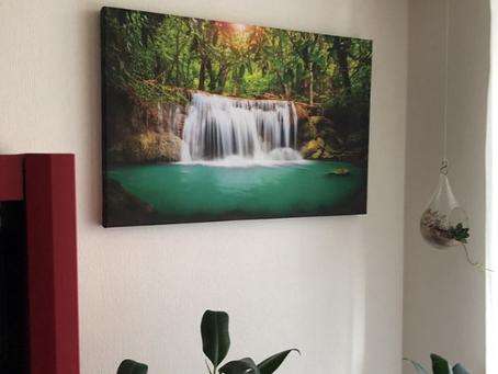 【風水】大事なアートはお部屋の入り口から目に入るといい✨
