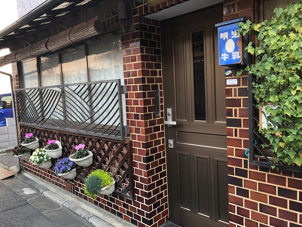 京都の町屋玄関風水