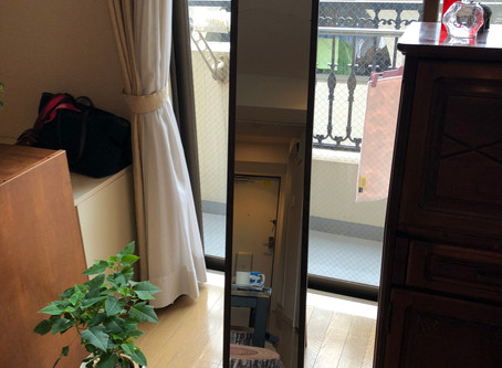 【風水事例】仕事の悩みと関係していた細く割れた鏡