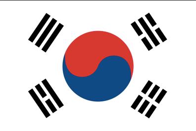 韓国の国旗と風水