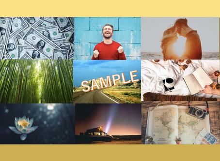 人生の8つのテーマであなただけのビジョンボードを作成するサービスをリリース!