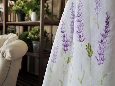 【風水TOKYO】美しい刺繍のレースカーテンの選び方✨