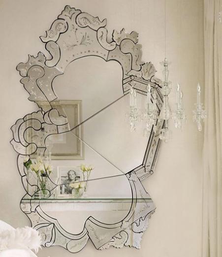 飾り鏡 切れている鏡 風水と鏡