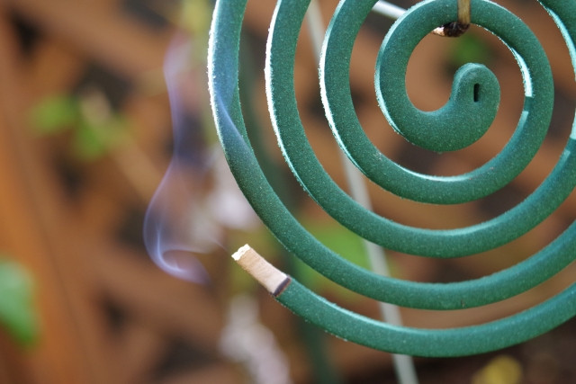 蚊取り線香風水インテリア コンテンポラリー風水フジワラユカ