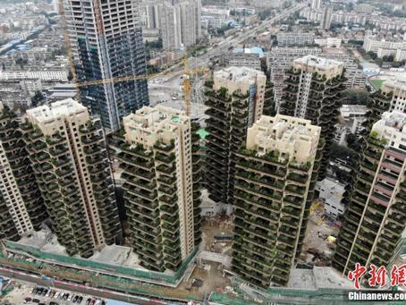 【風水】成都の「巨大な庭付きタワーマンション」が気になる!