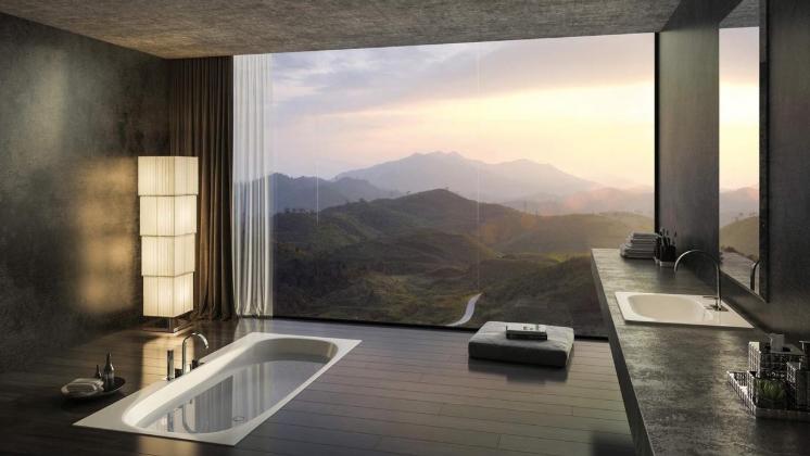 浴室の風水 コンテンポラリー風水フジワラユカ