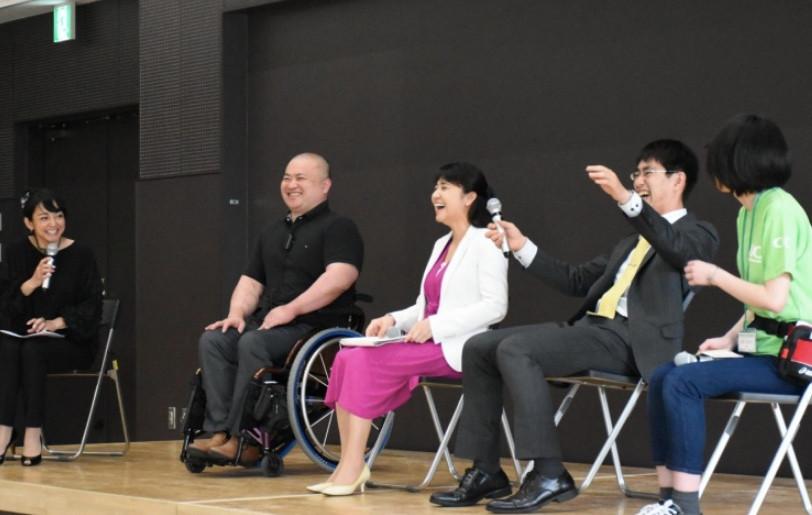 ゆめ旅KAIGO!2020パネルディスカッション 町亞聖さん山崎まゆみさん馬島誠さん井上貴至さん福島ゆりかさん
