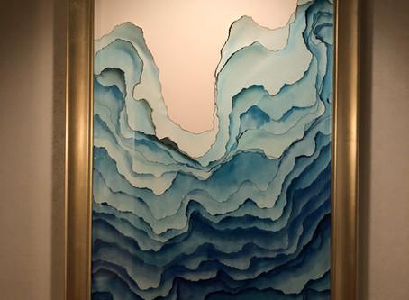 【風水】入り口に波のアートを配置するとどうなる?