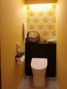 トイレの風水 黄色のトイレ 風水トイレリノベーション