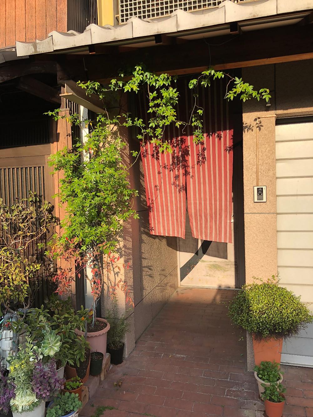 京都の町屋風水玄関