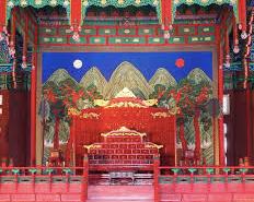 景福宮王座 朝鮮半島の風水