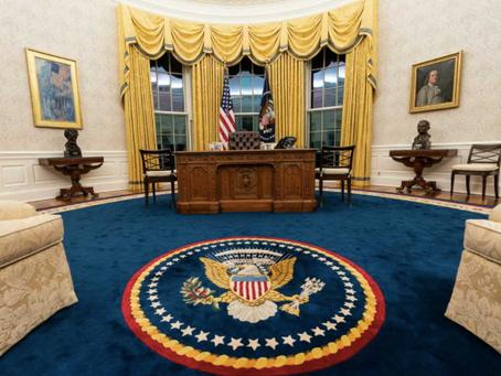 【風水】トランプ大統領とバイデン大統領の執務室。そしてそっくりなクリントン大統領センターの執務室!?