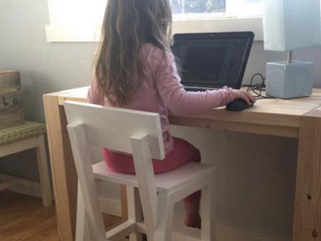 【風水】勉強机に座らない下の子ども。