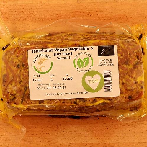 Vegan Vegetable and Nut Roast
