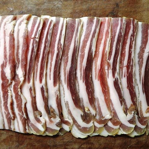 Unsmoked streaky bacon - 8 rashers
