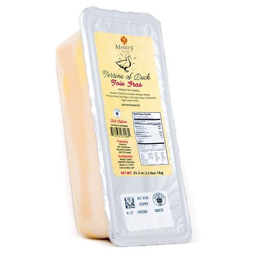 Terrine of Duck Foie Gras, 35.2 oz.