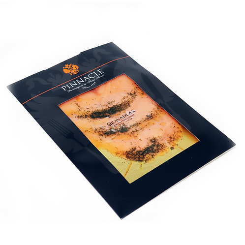 Scottish Gravlax Salmon Hand Sliced 4 oz.