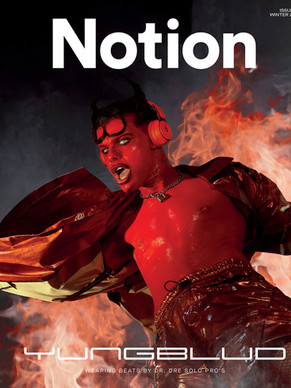 """""""If there's no push back then there's no push forward"""" - Yungblud x Notion"""