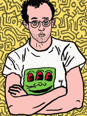 Keith haring x Queer Bible