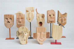 Masks wood2