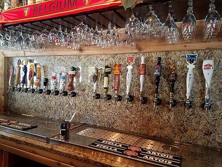 21 Belgian Beer Taps