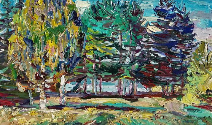 Summer day 2019 40-50 cm oil canvas