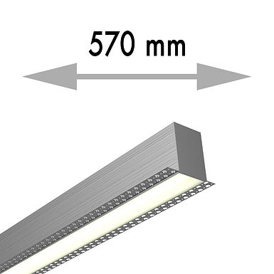 LIGNE CONTINUE 570x53,8x80 mm LINEA TRIMLESS FIN - LIT057-F