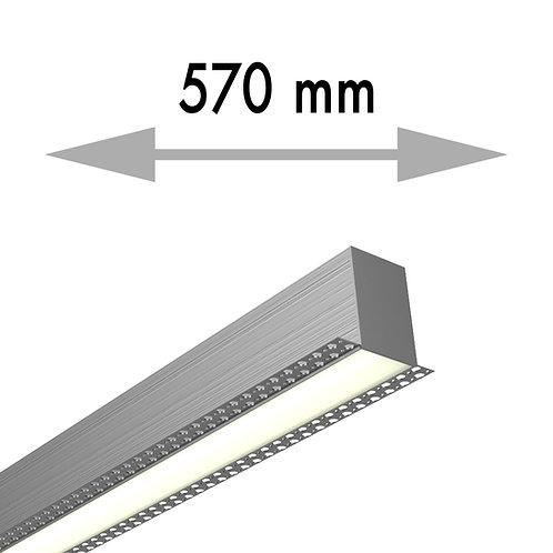 LIGNE CONTINUE 570x53,8x80 mm LINEA TRIMLESS MILIEU - LIT057-M