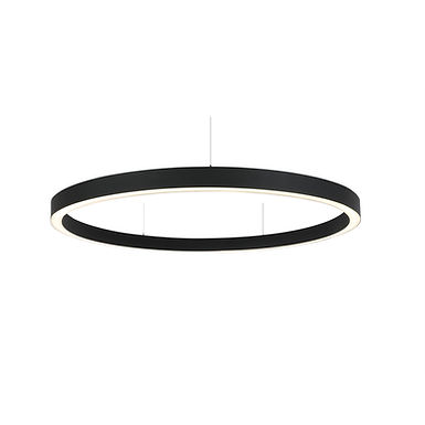 ANNEAU LED SUSPENDU OU APPLIQUE LINEA RING Diamètre 2400mm 100W  - LR240