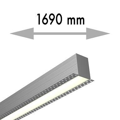 LIGNE CONTINUE 1690x53,8x80 mm LINEA TRIMLESS SOLO - LIT169