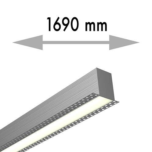 LIGNE CONTINUE 1690x53,8x80 mm LINEA TRIMLESS DEBUT - LIT169-D