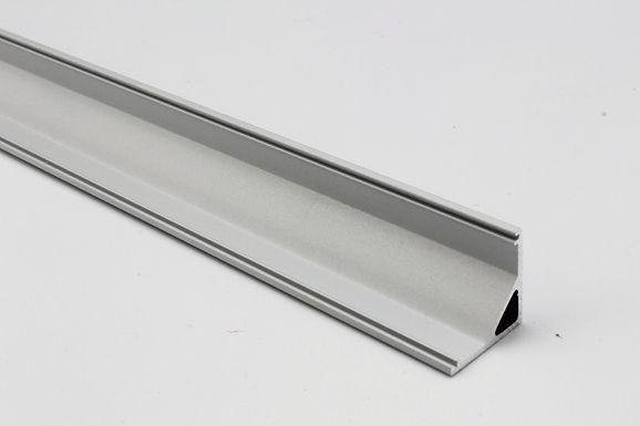 PROFIL ALUMINIUM 2500 x 16 x 16mm URBAN PROFIL 1616 - UPB1616M250