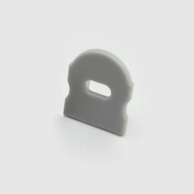 EMBOUT AVEC PASSAGE DE CABLE POUR BASE 1715+UPDT60M250 URBAN PROFIL -UPEAP601715