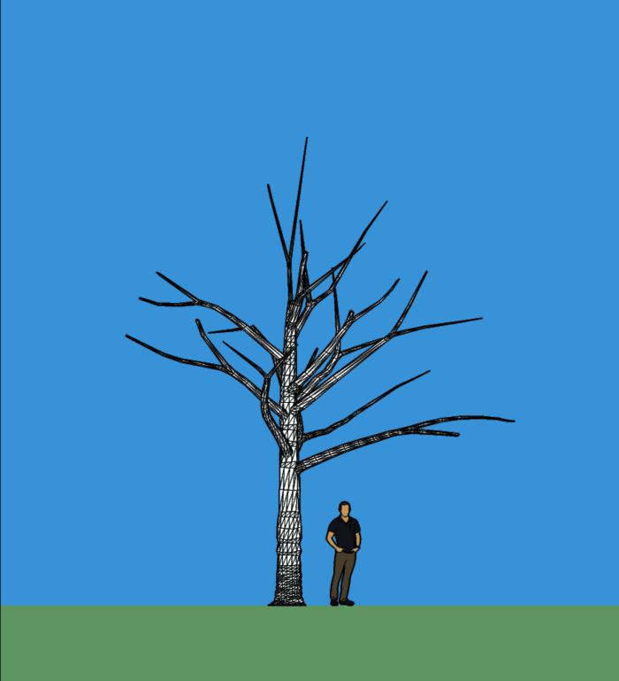 arbre lumineux projet