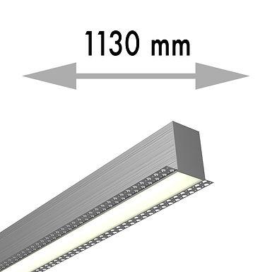LIGNE CONTINUE 1130x53,8x80 mm LINEA TRIMLESS MILIEU - LIT113-M