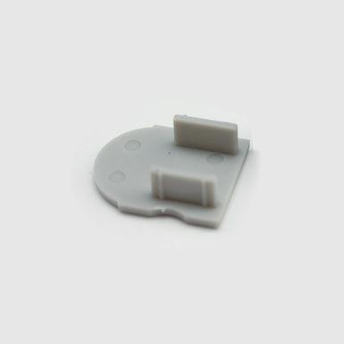 EMBOUT SANS PASSAGE DE CABLE POUR BASE 1715+UPDT60M250 URBAN PROFIL -UPESP601715