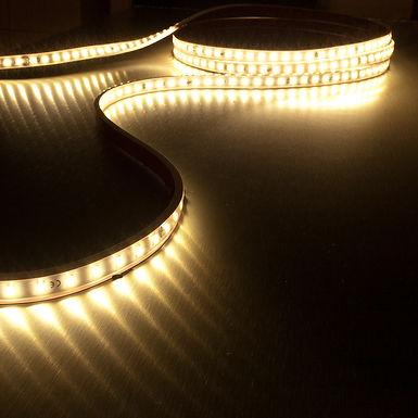 ROULEAU RUBAN LED 230V 14,4 W/m 72 LEDs/m 3000K - UR3056BC72