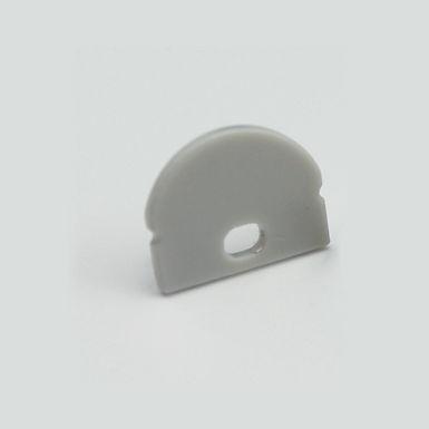EMBOUT AVEC PASSAGE DE CABLE POUR BASE 1708+UPDT60M250 URBAN PROFIL -UPEAP601708