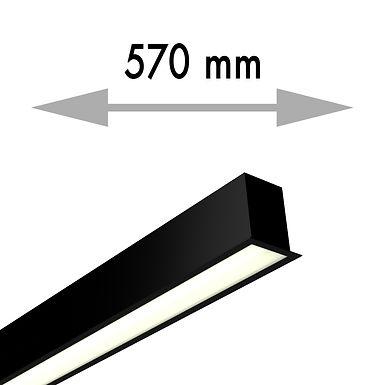 LIGNE CONTINUE 570x53,8x80 mm LINEA ENCASTRE FIN - LIE057-F