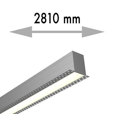 LIGNE CONTINUE 2810x53,8x80 mm LINEA TRIMLESS MILIEU - LIT281-M