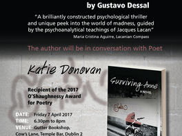 """""""Surviving Anne. A Novel"""" – Book Launch"""