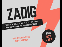 ZADIG / ICLO-NLS Members Conversation