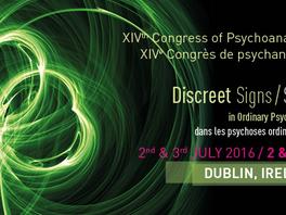 XIVth NLS Congress – Dublin 2016 PROGRAMME