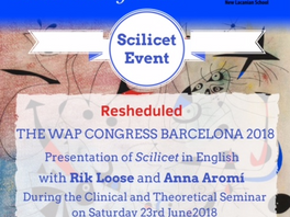Scilicet Event – New date 23/6