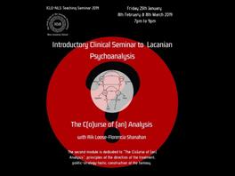 ICLO-NLS Introductory Teaching Seminar to Lacanian Psychoanalysis