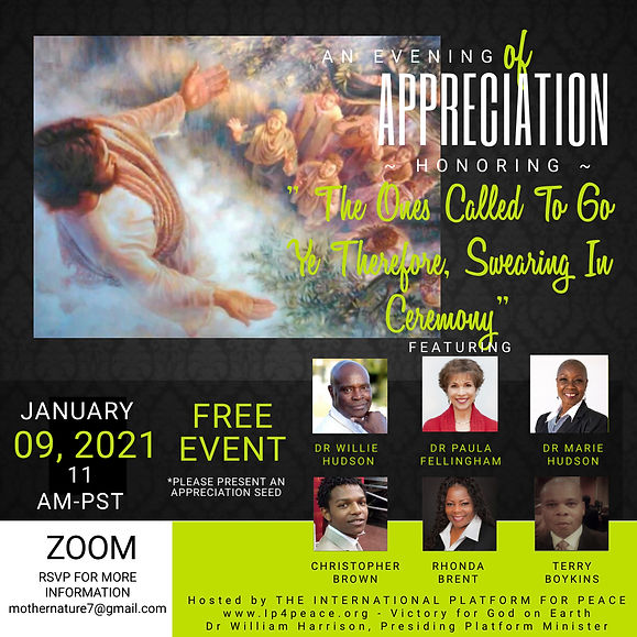 Copy of An Evening of Appreciation - Mad