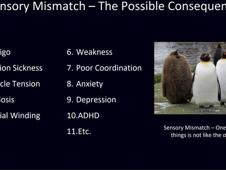 Sensory Mismatch!
