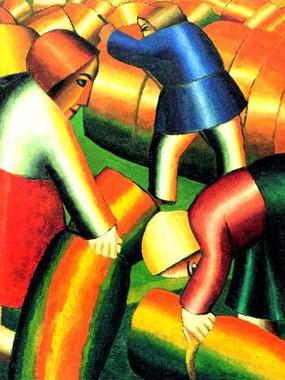 Malevich e Khlebnikov