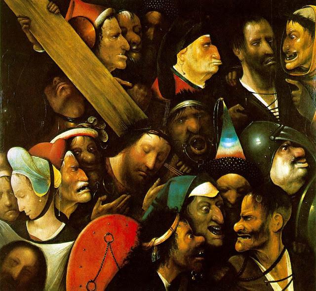 Cristo carregando a Cruz de Hieronymus Bosch